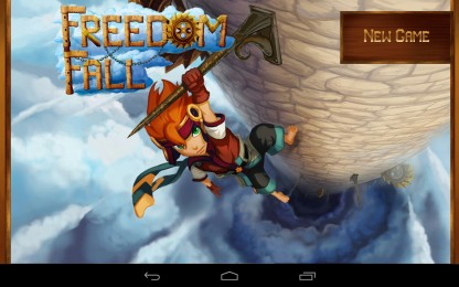 Freedom Fall - спасаем принцессу. Платформер для Samsung Galaxy