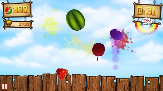 Fruit Ninja vs Skittles – новый фруктовый ниндзя для Android