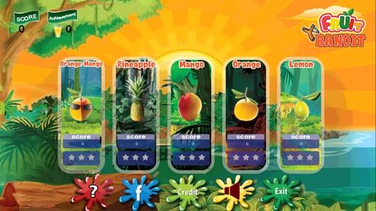 Fruit Bandit – фруктовый обстрел для Android