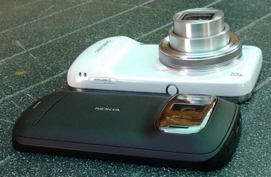Сравнение записи видео на Samsung Galaxy S4 Zoom и Nokia 808 PureView
