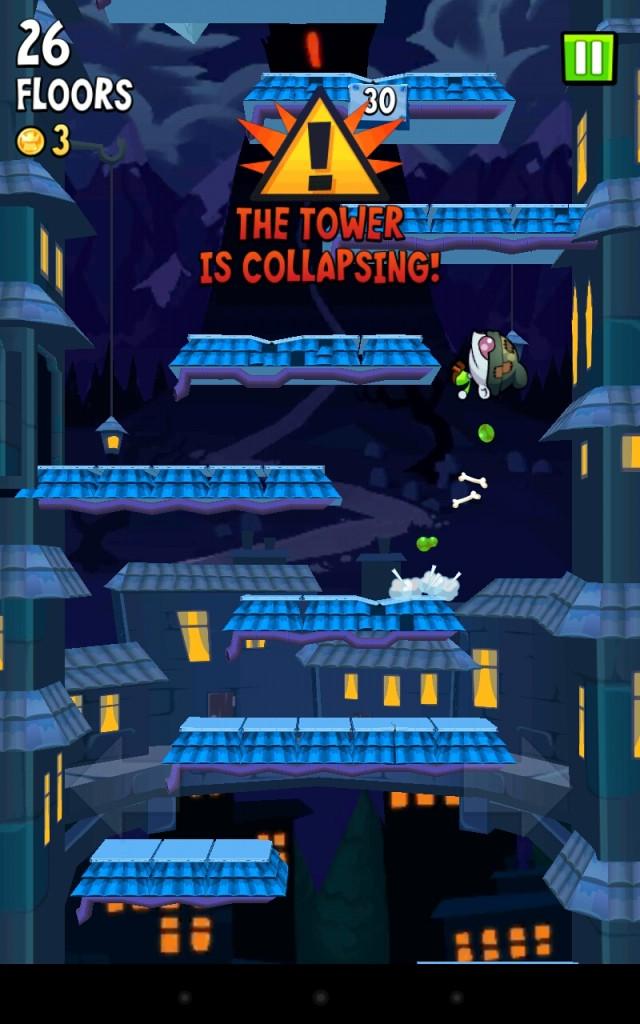 Icy Tower 2 Zombie Jump - прыгаем вверх! Джампер для Samsung Galaxy