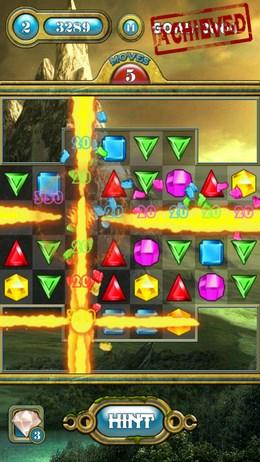 Jewels Saga – ювелирные баталии для Android