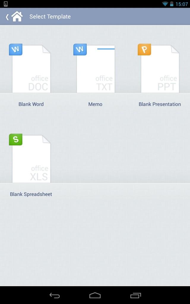 Kingsoft Office - мощный тектовый редактор для Samsung Galaxy