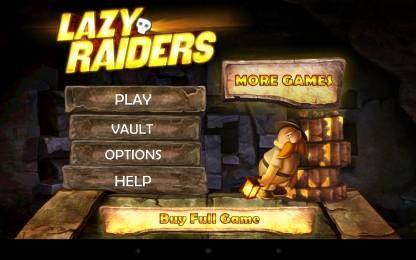 Lazy Raiders - пухлый охотник за сокровищами. Аркада для Samsung Galaxy