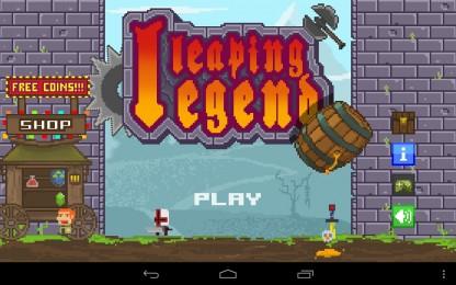 Leaping Legend - Рыцарь, прыгай все выше и выше. Аркада для Samsung Galaxy