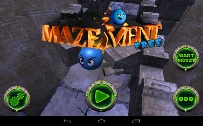 Mazement - пройди лабиринт и освободи друзей. Аркада для Samsung Galaxy