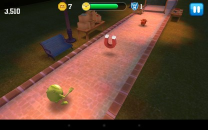 Monsters University - поймай свинью. Ранер для Samsung Galaxy