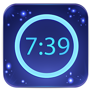 Neon Alarm Clock