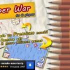 Paper War for 2 Players – бумажные самолеты