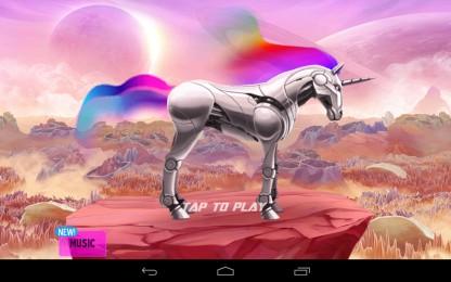Robot Unicorn Attack 2 - забег сказочного единорога на Samsung Galaxy