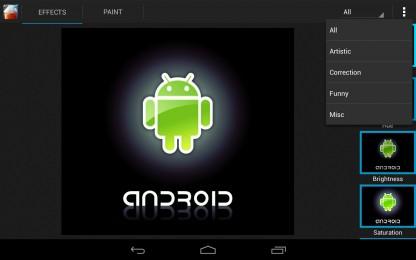 Smoothie Image Editor - удобный фото-редактор для Galaxy Samsung