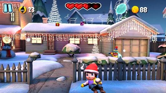 SnowJinks – играем в снежки для Android