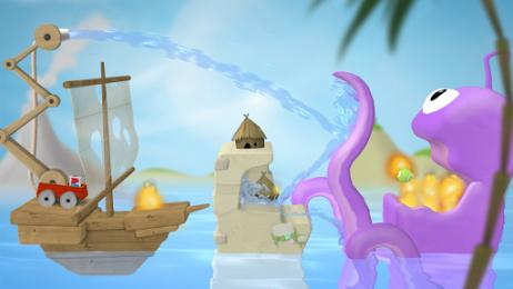 Sprinkle Islands - тушим пожары. Головоломка для Samsung Galaxy