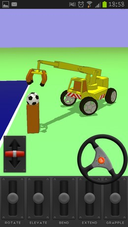 The Little Crane That Could – управляем автокраном для Android
