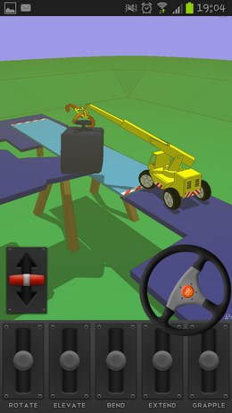 The Little Crane That Could – управляем автокраном для Android