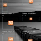 Zooper Widget – набор минималистичных виджетов