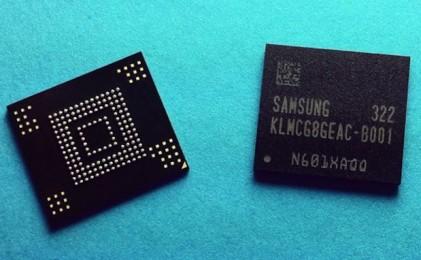 Samsung начинает производство самой быстрой Flash-памяти eMMC 5.0