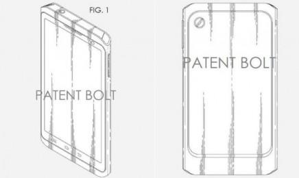 Samsung оформила патент на новый дизайн смартфона