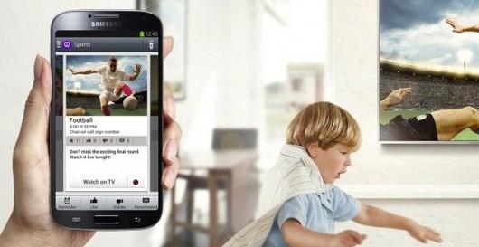 Настройка Galaxy S4 для дистанционного управления телевизором