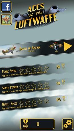 Aces of the Luftwaffe – воздушные сражения