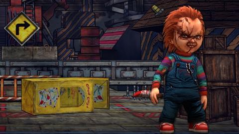 Chucky: Slash & Dash - ранер со страшной куклой Чаки
