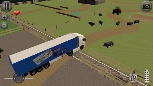 Euro Truck Parking – управляем грузовиками