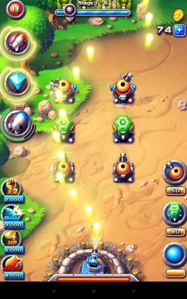 Field Defender - отрази натиск вражеской армии на Samsung Galaxy