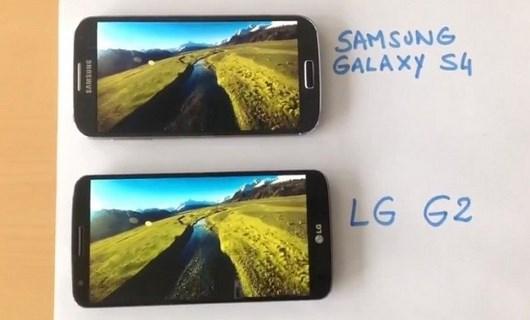 Сравнение Galaxy S4 и LG G2