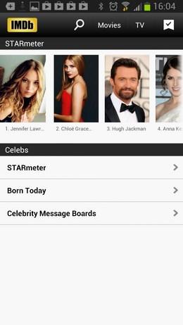 IMDb Movies & TV – база знаний киномана для Android