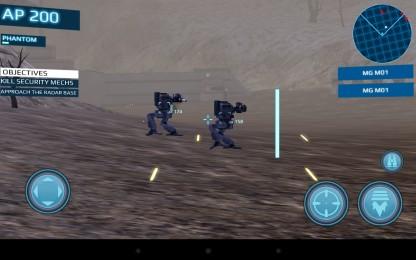 Metal Wars 3 - сражение мехов. Шутер для Samsung Galaxy