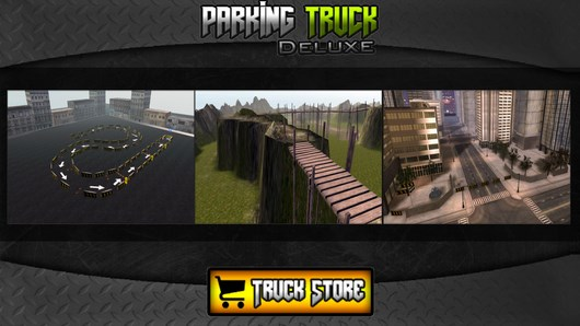 Parking Truck Deluxe – езда на тягаче для Android