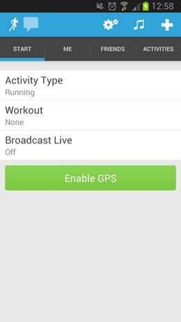 RunKeeper – карманный тренер для Android