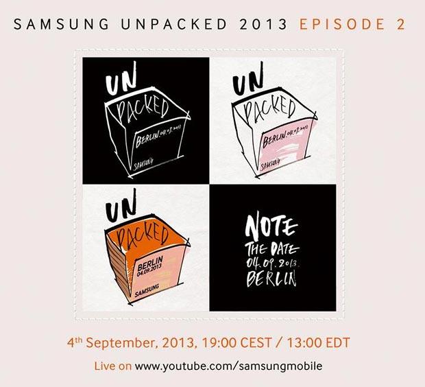 SAMSUNG UNPACKED пройдет 4 сентября