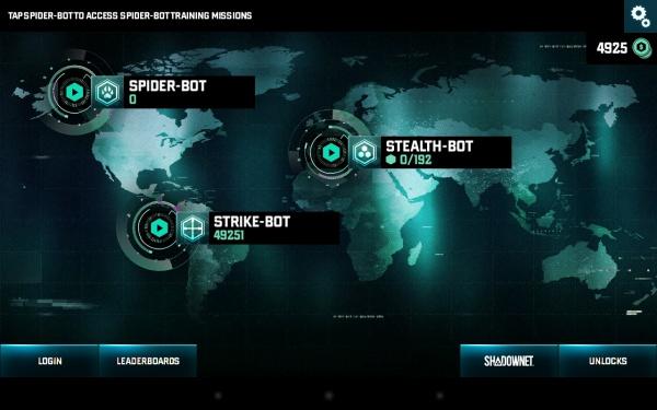 SC Blacklist: Spider-Bot - шустрый шпионский дроид на Samsung Galaxy