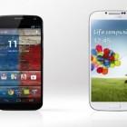 Первый тест Samsung Galaxy S4 против Motorola Moto X