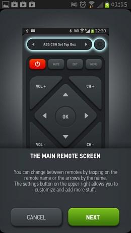 Smart IR Remote for Galaxy S4 – виртуальный пуль ДУ для Android