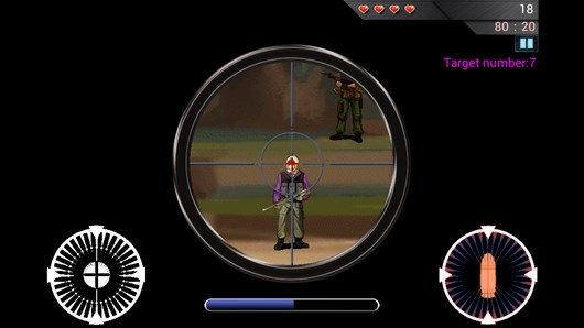 Sniper: Death Shooting – меткий глаз