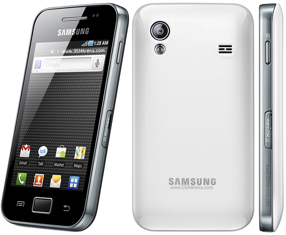 Samsung Galaxy Ace 3 в белом корпусе