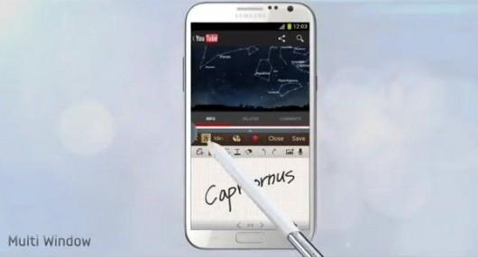 Новые функции Galaxy Note 3