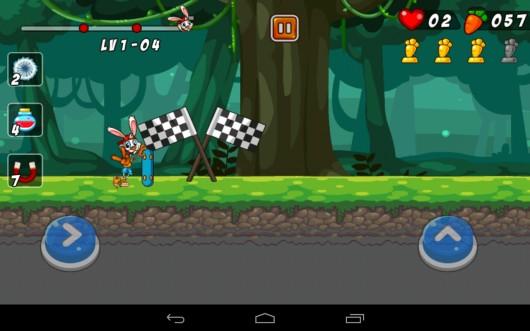 Bunny Skater - заяц на скейте на Samsung Galaxy