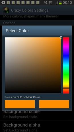 Crazy Colors Live Wallpaper – цветная дымка