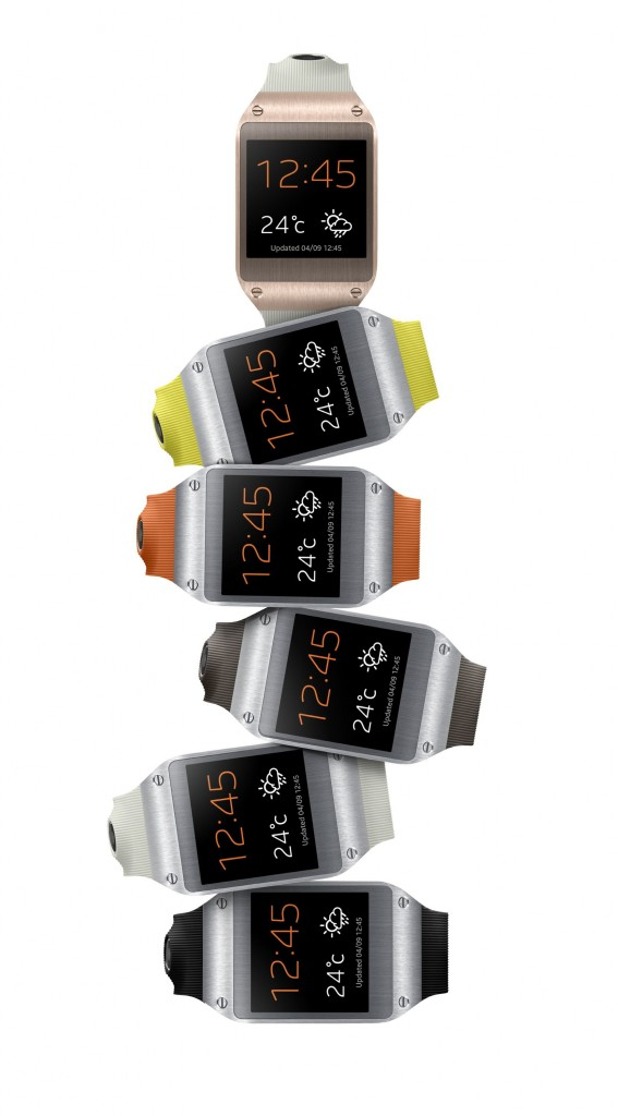 """Официальное знакомство с """"умными"""" часами Samsung Galaxy Gear"""