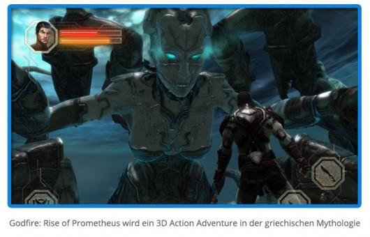 Godfire: Rise of Prometheus - новые подробности