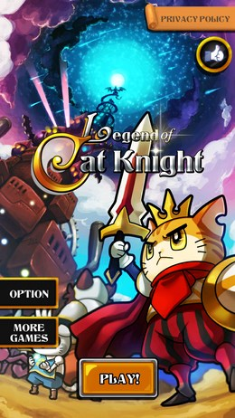 Legend of Cat Knight – царь кошек