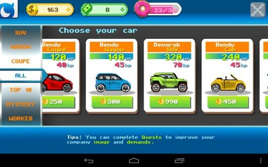 MOTOR WORLD CAR FACTORY - создай свою автомобильную компанию на Samsung Galaxy