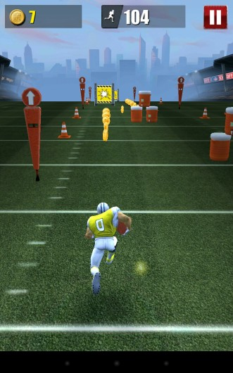 NFL Runner: Football Dash - футбольный ранер для Samsung Galaxy