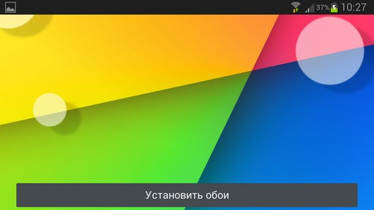 Nexus 7 2 Live Wallpaper HD – абстракция в стиле Nexus