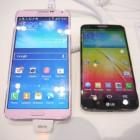 Беглое сравнение смартфонов Samsung Galaxy Note 3 и LG G2