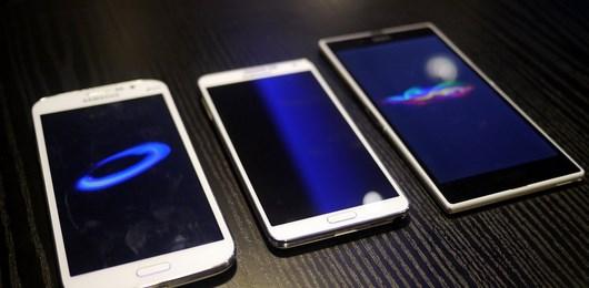 Видео сравнение Galaxy Note 3