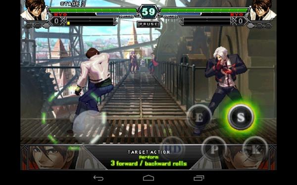 THE KING OF FIGHTERS-A 2012 - отличный файтинг для Samdung Galaxy